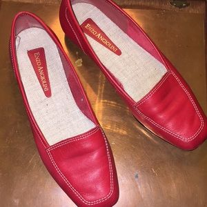Red Enzo angiolini shoes